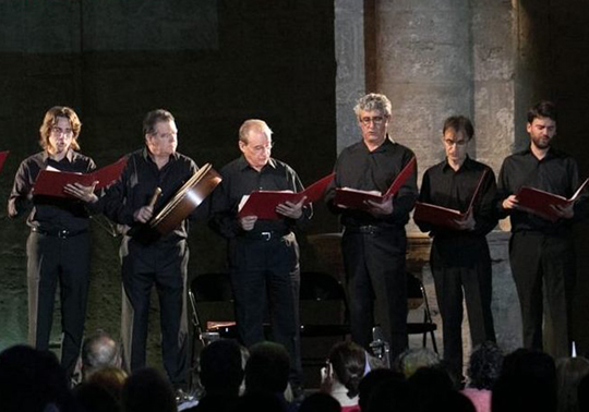 event image:Lluís Vich Vocalis. Autumn Concerts. Cycle Music in the Chapel. 06/11/2019. Centre Cultural La Nau. 19.00h
